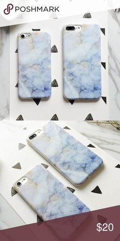 Blue Skies IPhone 7/7 PLUS Case Brand new. High quality soft silicone case with lifted bumper to protect screen. Accessories Phone Cases