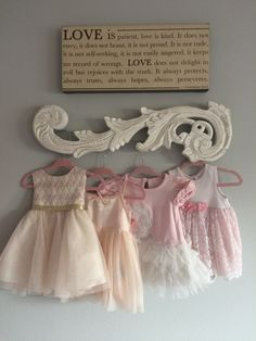 Baby Girl Nursery Princess Pink Pottery Barn New Ideas Shabby Chic Bedrooms, Shabby Chic Furniture, Shabby Chic Decor, Ballerina Nursery, Girl Nursery, Chic Nursery, Nursery Ideas, Princess Nursery, Nursery Dresser