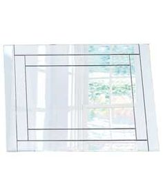 Buy Double Bevelled Glass Wall Mirror - Silver at Argos.co.uk, visit Argos.co.uk to shop online for Mirrors