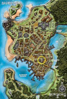 Rusty Dragon Inn Location