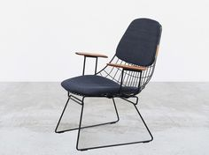 Tenue de Nimes Denim Lounge Chair and Stool by Pastoe