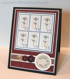 Special Deliver Stamp Set