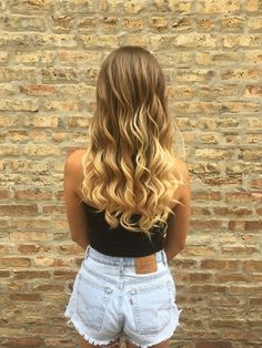 summer waves | hair by goldplaited | blonde ombré hairstyle #summer #hairstyle #summerhair #festivalhair
