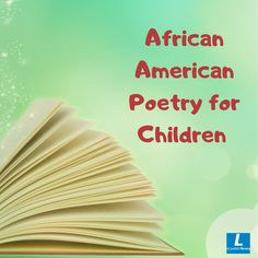 American Poetry, Poetry Collection, Writing Poetry, Chapter Books, African American History, Children, Kids, Young Children, Young Children