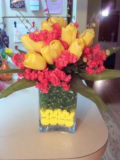 Peep/Easter Grass Centerpiece