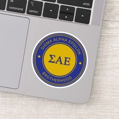 Sigma Alpha Epsilon, Alpha Phi, Tau Gamma, Sae Fraternity, Decorated Water Bottles, Personalized Stickers, Shape Of You, White Ink, Cute Stickers
