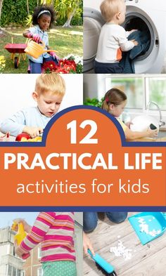 Best practical life activities for kids to teach them important life skills.