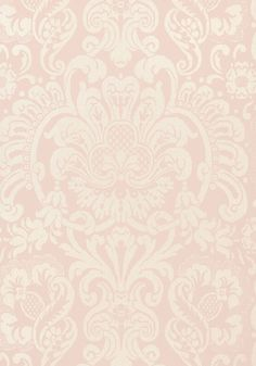**DORIAN DAMASK, Pink, T89102, Collection Damask Resource 4 from Thibaut