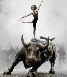 Occupy Wall Street Ballerina