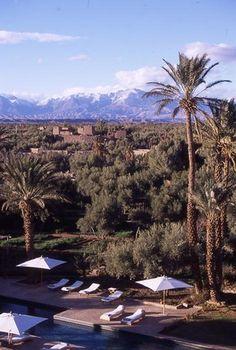 o hotel dar ahlam, no marrocos  maisondesreves.com