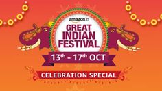 Great india festival sale on for prime members. Online Shopping Sites, Shopping Hacks, Happy Shopping, Good Insta Captions, Diwali Sale, Indian Online, Wishes For Friends, Diwali Festival, Tech Updates
