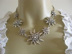 Edelweiss Necklace $35.91 (free shipping); German Dirndl Necklace Item 2ed0740228