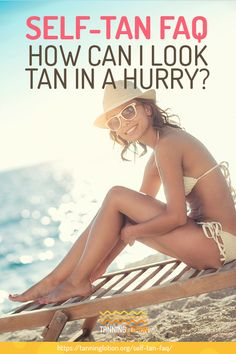 Self-Tan FAQ | How Can I Look Tan In A Hurry? | We've gathered and answered the frequently asked questions about self tan to help you achieve the sun-kissed glow, all at the convenience of your home! Daily Beauty Tips, Beauty Hacks, Beauty Blogs, Diy Beauty, Everyday Beauty Routine, Beauty Routines, Self Tanning Tips, Sun Tanning, Korean Makeup Tips