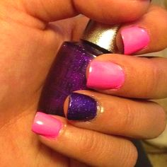 painted my nails :)
