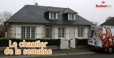 Un exemple de chantier de menuiserie réalisé par l'agence technitoit d'Angers à Bécon les Granits #menuiseries   #fenêtre   #PVC   #beconlesgranits