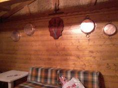 interno casa di legno