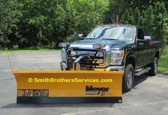 2015 Ford F-250 (gas engine) Meyer Lot Pro 8 Buyers Spreader
