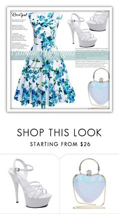 """Rosegal"" by adelisamujkic ❤ liked on Polyvore featuring vintage"