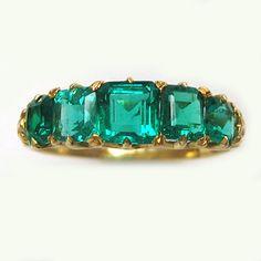 Emeralds are magic