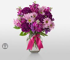 Purple,Carnation,Daisy,Mixed Flower,Arrangement