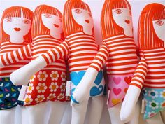 Handmade with a bit of help – Jane Foster doll kits
