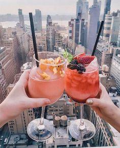 New York City Vacation, New York City Travel, Fun Restaurants In Nyc, New York Girls, New York Christmas, New York Life, Skylark, Cocktail Recipes, Cocktails