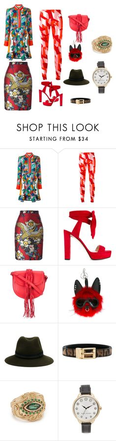 """Fashion icon...."" by jamuna-kaalla ❤ liked on Polyvore featuring Emilio Pucci, NIKE, Dsquared2, Jimmy Choo, Altuzarra, STELLA McCARTNEY, Maison Michel, Dolce&Gabbana, Aurélie Bidermann and Marc Jacobs"