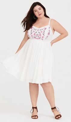 173 Best The Plus Size Little White Dress images in 2019 ...