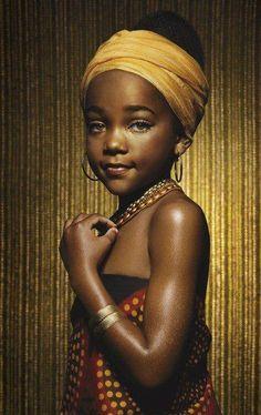 cute African kid