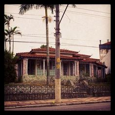 Beautiful mansion (demolished in 2011) in Vila Formosa, Sao Paulo (Brazil)