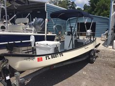 My Riverhawk B60 Front Casting Deck And Yeti Cooler As A