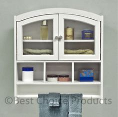 White Bathroom Furniture On Cabinet Arch Top Bath Wall Mount Storage Solid