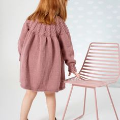 DG339-02 YLVA FLETTEKJOLE | Dale Garn Baby Booties Knitting Pattern, Baby Knitting, Knitting Patterns, Knit Baby Dress, Booty, Sweaters, Dresses, Design, Fashion