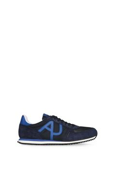 Armani Schuhe Für Ihn flache sneakers aus wildleder und funktionsgewebe Armani Jeans, Emporio Armani, Armani Store, Italian Outfits, Shoes With Jeans, Converse, Sneakers, Collection, Fashion