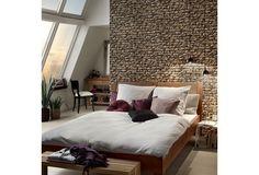 Burg Feeling Im Eigenen Schlafzimmer! Mit Dieser Naturgetreuen Tapete Haben  Sie Das Gefühl Von