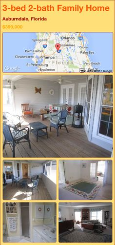 3-bed 2-bath Family Home in Auburndale, Florida ►$399,000 #PropertyForSale #RealEstate #Florida http://florida-magic.com/properties/93106-family-home-for-sale-in-auburndale-florida-with-3-bedroom-2-bathroom