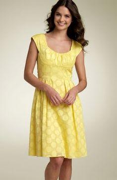 What Would Emma Pillsbury Wear?: Glee Fashion ID - Vitamin D - Yellow Dresses