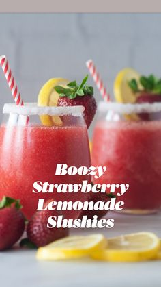 Fruity Alcohol Drinks, Alcohol Drink Recipes, Alcoholic Drinks For Summer, Drinks With Rum, Blended Alcoholic Drinks, Alcoholic Lemonade Drinks, Summer Drinks Kids, Frozen Summer Drinks, Frozen Mixed Drinks