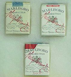 Early Marlboro packaging