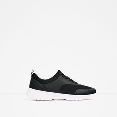 Image 2 of CONTRAST SOLE SNEAKERS from Zara