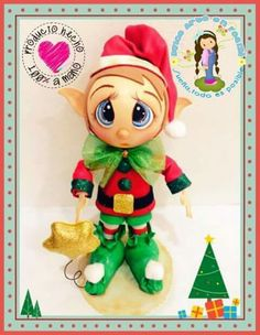 Duende Xmas Crafts, Diy Crafts, Christmas Decorations, Holiday Decor, Yard Art, Christmas Inspiration, Creations, Decoupage, Dolls
