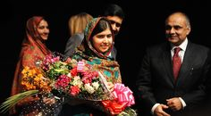 On Friday, the two jointly received the Nobel for their work on behalf of children. Malala has campaigned for girls' education. Satyarthi founded the Save the Childhood Movement in India.