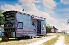 Gypsy Mermaid Tiny House/ This is a really cool looking tiny house. I love the style.