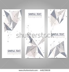 Find Vector Vertical Banners Set Polygonal Abstract stock images in HD and millions of other royalty-free stock photos, illustrations and vectors in the Shutterstock collection. Thousands of new, high-quality pictures added every day. Background Banner, Abstract Shapes, Letterhead, Circles, Banners, Royalty Free Stock Photos, Essentials, Branding, Packaging