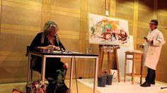 """Buchpremiere """"Über wilden Wiesen"""" Dezember 2012 Roswitha Iasevoli und Ulla…"""
