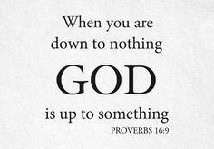 God Turns Nothing Into Something
