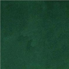 Emerald Green Velvet Upholstery Fabric Solid Color Heavyweight