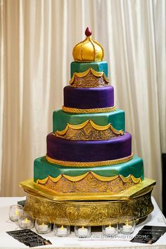 Torta para boda Hindú