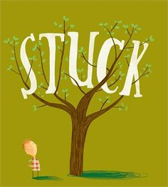 """""""Stuck"""" by Oliver Jeffers"""