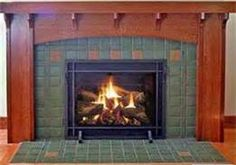 Craftsman Style Fireplace Mantels - Bing Images